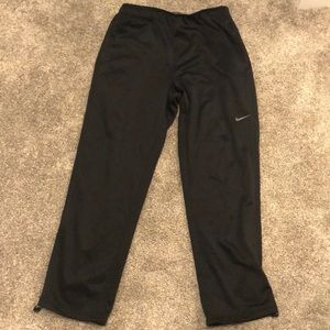 Black Nike therma-fit sweat pants